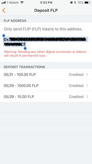 How to deposit FLP to my Gameflip wallet – Gameflip Help