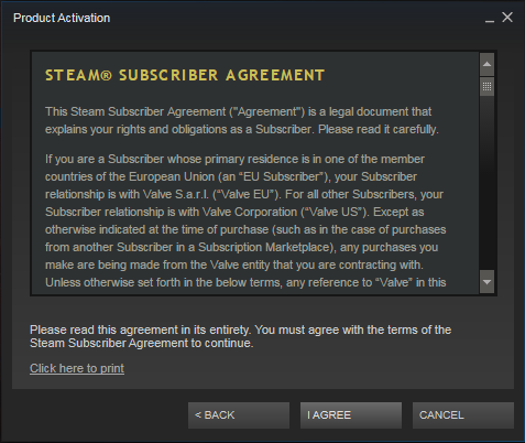 activate key on steam mobile
